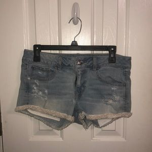 MAKE OFFERS America Eagle Distressed Shorts
